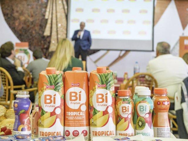 Presentación del nuevo Bifrutas de Calidad Pascual en Las Palmas de Gran Canaria