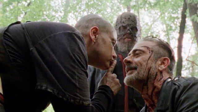 Imagen de la décima temprada de The Walking Dead