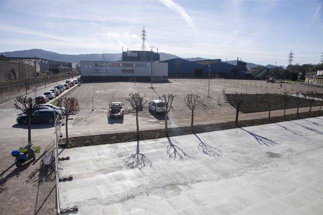 Construcción del nuevo aparcamiento de La Vidriera