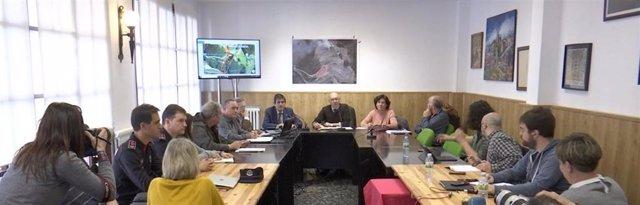 Reunión Mesa de seguimiento derrumbre vertedero de Zaldibar