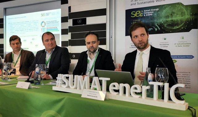 Rueda de prensa de presentación de la Smart Energy Congress & Expo 2020, por parte de Plataforma EnerTIC.