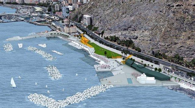 Diseño del proyecto del litoral de Valleseco
