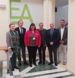 El grupo de 'EPIC España' en la Escuela Andaluza de Salud Pública