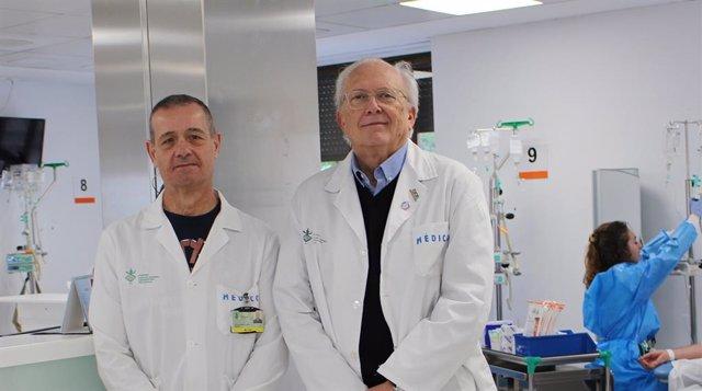Los doctores Alfonso Berrocal y Carlos Camps