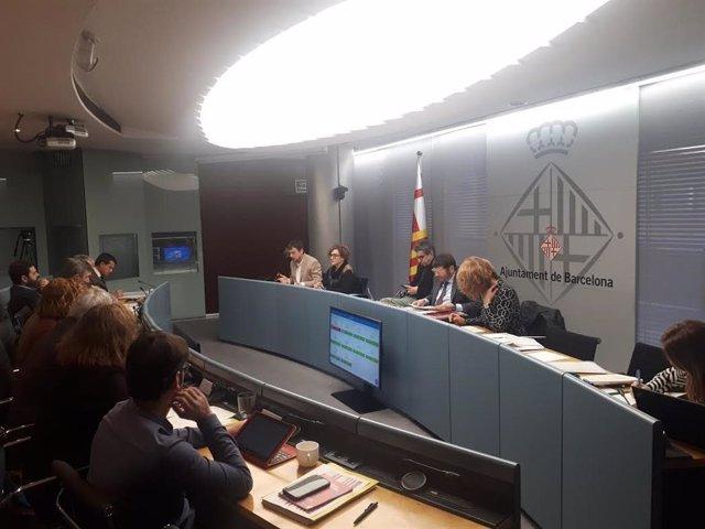 La comissió de Presidència, Drets de Ciutadania, Participació i Seguretat i Prevenció de l'Ajuntament de Barcelona.
