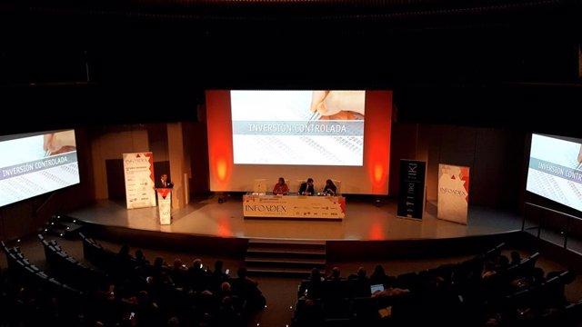 Presentación del Estudio de la Inversión Publicitaria en España 2020 de InfoAdex en el auditorio de la Mutua Madrileña.