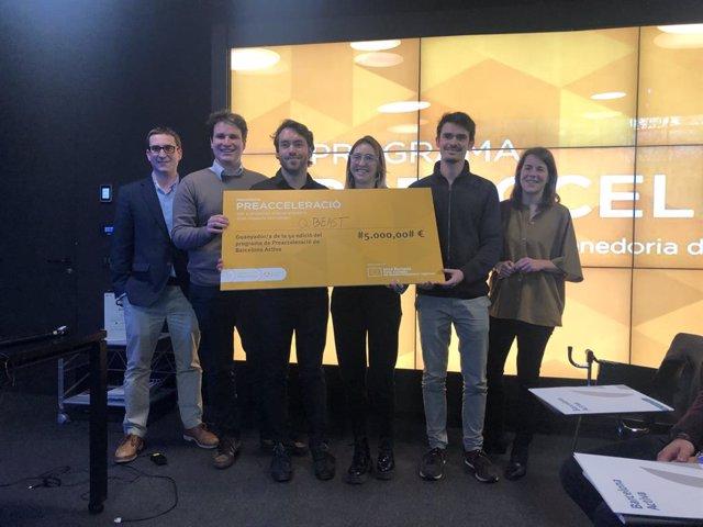 Barcelona Activa reconeix Qbeast amb un premi al millor projecte d'alt impacte tecnològic.