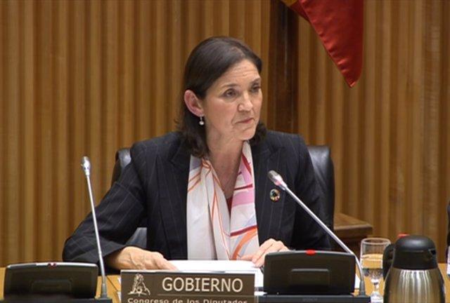 Reyes Maroto, en la Comisión de Industria, Comercio y Turismo