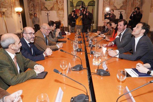 Reunión de la comisión interadministrativa para el Centenario de Miguel Delibes.