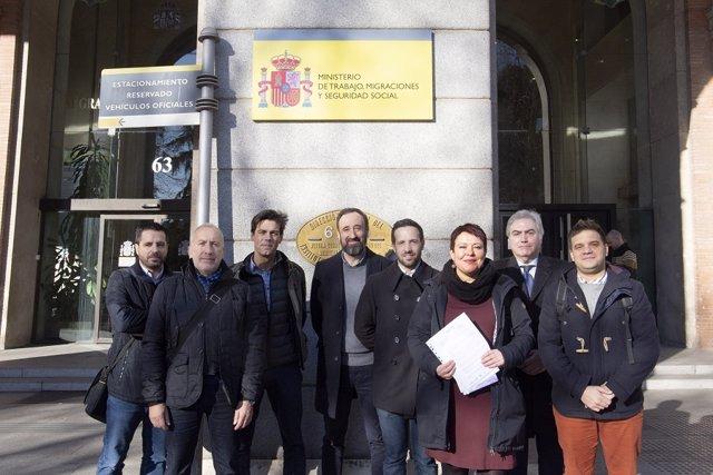 La Plataforma Sindical Plural registra una carta para la ministra de Trabajo y Economía Social