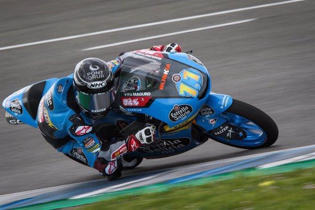 El piloto español de Moto3 Sergio García