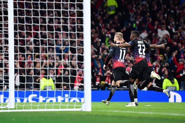 Timo Werner celebra el gol de la victoria en Champions ante el Tottenham