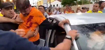 Brasil.- Un senador brasileño es disparado cuando intentaba romper un piquete en una manifestación de la Policía Militar