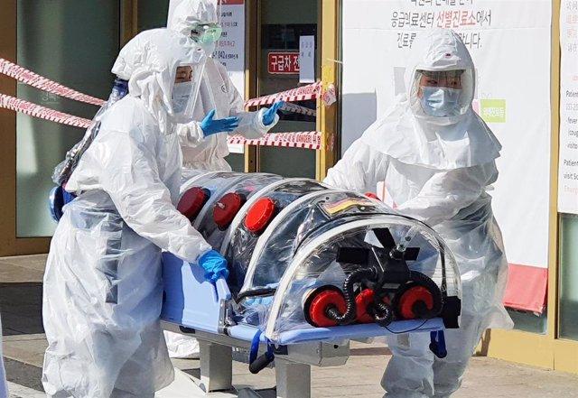 Coronavirus en Daegu, Corea del Sur.