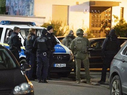 AMP.- Alemania.- Un supuesto ultraderechista mata a nueve personas en dos tiroteos en la ciudad alemana de Hanau