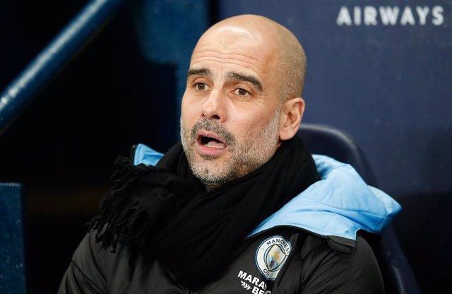 L'entrenador del Manchester City Pep Guardiola