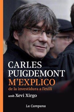 Portada del llibre que l'expresident de la Generalitat Carles Puigdemont publicarà a l'abril