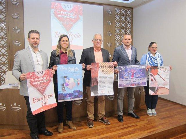 Presentación programas de Folklore de la Diputación de BAdajoz