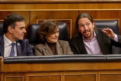 """Iglesias asegura que hay """"unidad"""" en el Gobierno y que las diferencias se resuelven """"a puerta cerrada"""""""