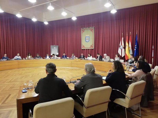 El pleno del Ayuntamiento de Logroño ha aprobado el presupuesto municipal para 2020, por 172,79 millones