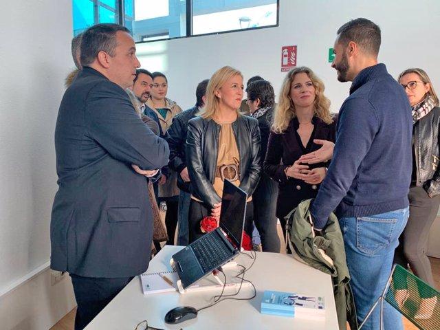 Np, Foto Y Audio Ana Mestre Visita Nueva Oficina Brexit La Línea