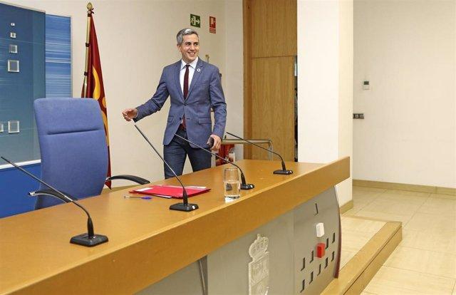 El vicepresidente del Gobierno de Cantabria y consejero de Universidades, Igualdad, Cultura y Deporte, Pablo Zuloaga