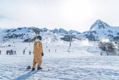 Grandvalira prevé mantener todos sus kilómetros abiertos en Carnaval y programa actividades para todos los públicos