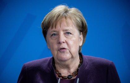 """Alemania.- Merkel, tras el atentado xenófobo en Alemania: """"El odio es veneno y existe en nuestra sociedad"""""""