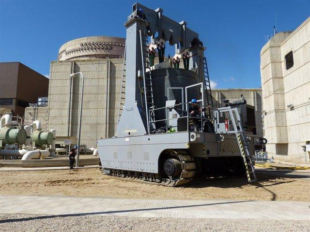 Transporte de combustible nuclear gastado al ATI de Ascó