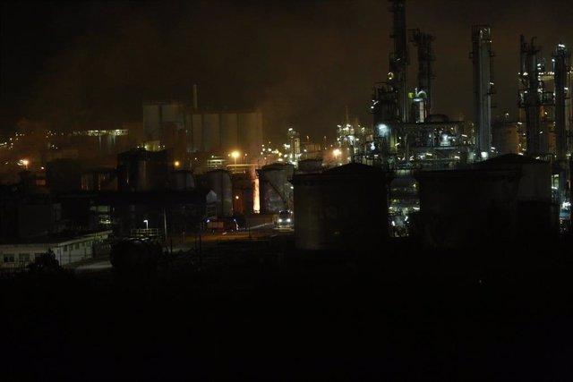 Explosió a la planta petroquímica de la Canonja (Tarragona).