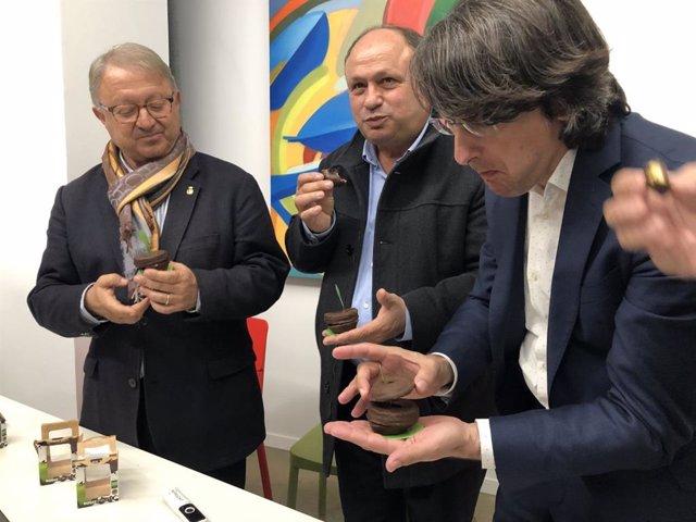 Paco Cerdà, Josep Anton Ortiz y Manel Simon.