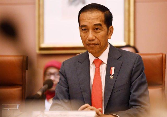 El president d'Indonèsia, Joko Widodo.