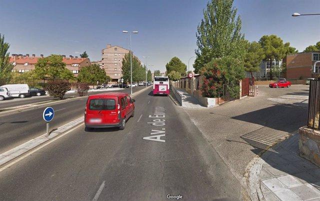 Avenida de Europa de Toledo