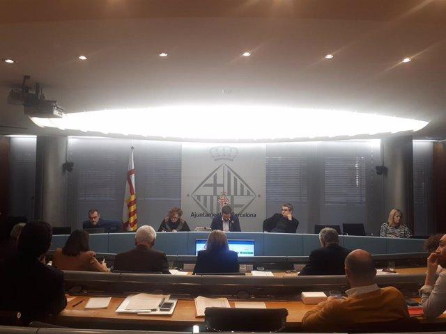 Comissió d'Economia de Barcelona.