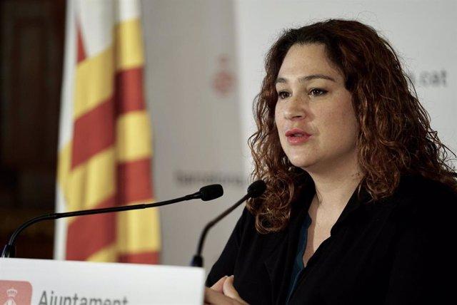 Tinent d'alcalde de Drets Socials, Justícia Global, Feminismes i LGTBI de Barcelona, Laura Pérez.