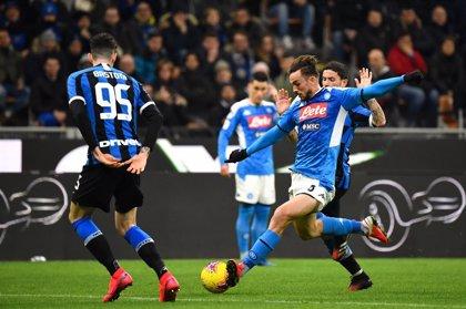 El Nápoles busca impulso para recibir al Barça mientras Juventus, Lazio e Inter pelean por el liderato