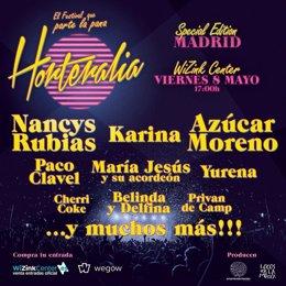 Azúcar Moreno, Karina, Nancys Rubias, Paco Clavel, Yurena y María Jesús y su aco