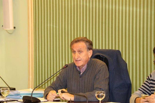 El director de la Oficina Balear de la Infancia y la Adolescencia (OBIA), Serafín Carballo, en comparecencia parlamentaria