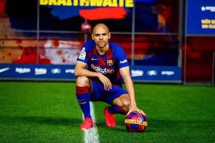 """Braithwaite: """"He estudiado el juego del Barça para estar en el sitio que toca"""""""