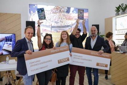Melani Garzón gana el concurso de jóvenes artistas de Philip Morris Canarias con 'Futuro Vibrante'