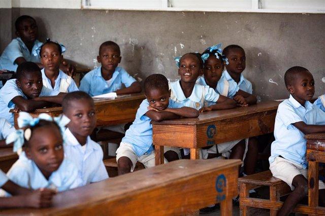 Escuela en Haití