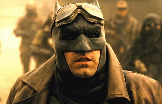 Ben Affleck es Batman en Batman v Superman