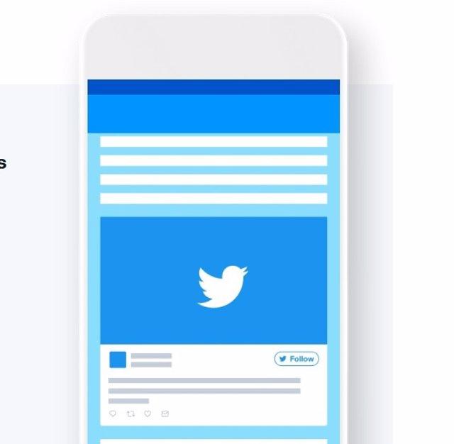 Recurs aplicació mòbil de Twitter