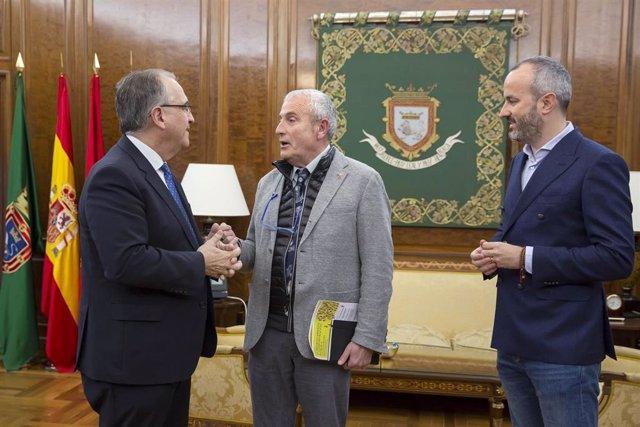 Enrique Maya, Carlos Artundo y Fermín Alonso