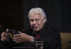 FELIPE GONZALEZ, SOBRE MADURO: SI ALGUIEN DICE QUE ES UNA OFERTA ALTERNATIVA ME PEGO UN TIRO AL AMANECER