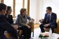 Sánchez y Costa trasladan al presidente del Consejo Europeo la postura de los defensores de la Política de Cohesión