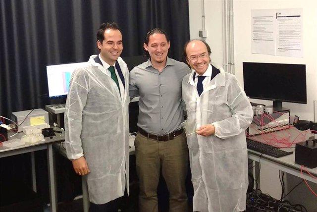 En Getafe, el vicepresidente de la Comunidad de Madrid, Ignacio Aguado, visita el IMDEA Materiales