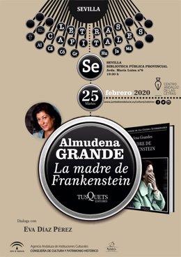 Presentación de la novela de Almudena Grandes en Sevilla