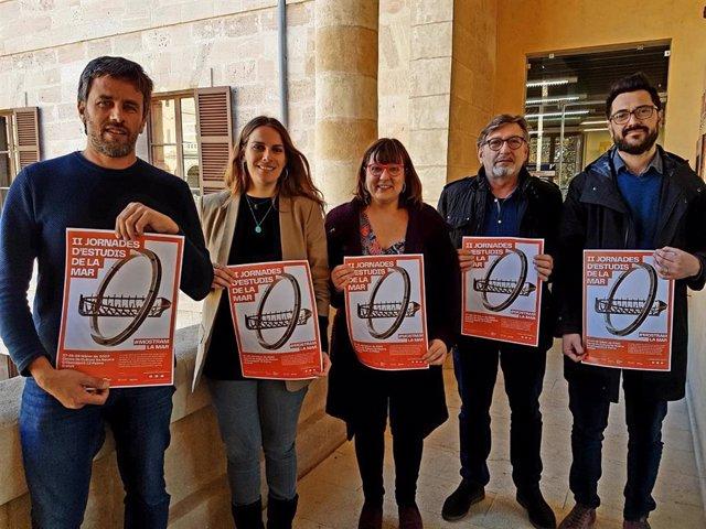 Presentación de las segundas jornadas de Estudios del Mar, del Consell de Mallorca.
