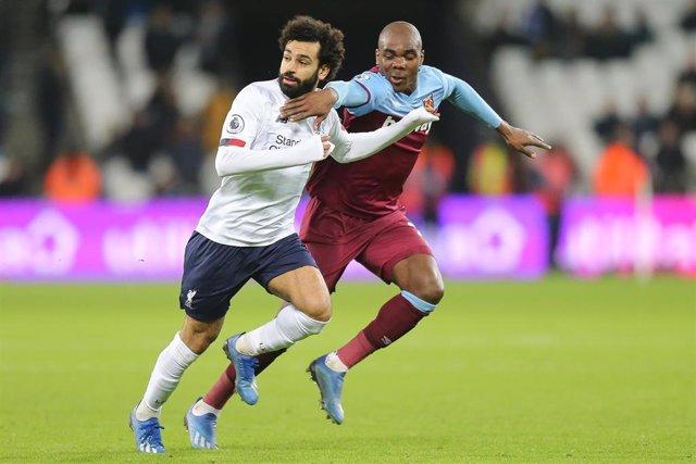 Salah en el West Ham - Liverpool